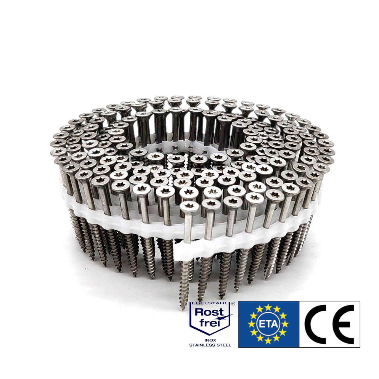 Coil Universalschrauben | rostfrei A2 | Teilgewinde | 4,0x40