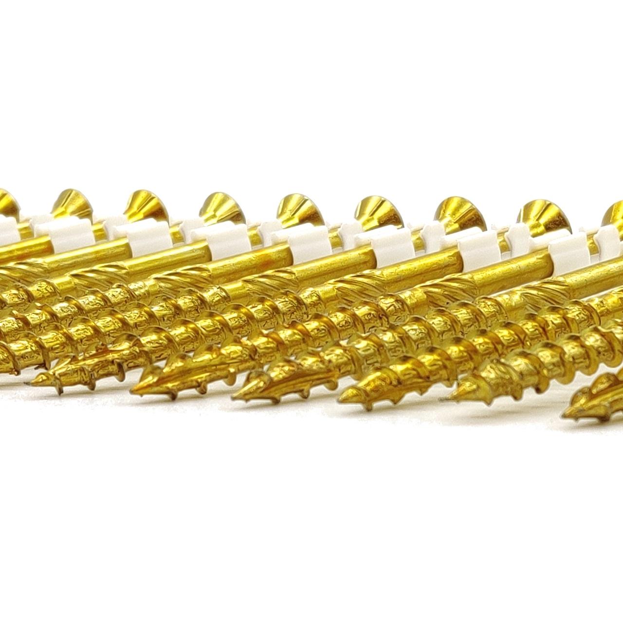 adunox-ONE-XL adunox-SuperUni Holzschrauben   gelb verzinkt   6,0x140