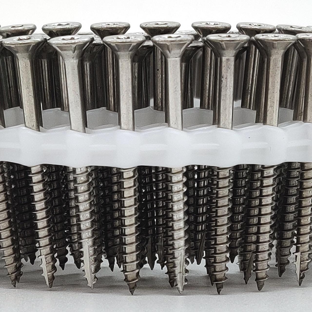 Coil Universalschrauben | rostfrei A4 | Teilgewinde | 5,0x70
