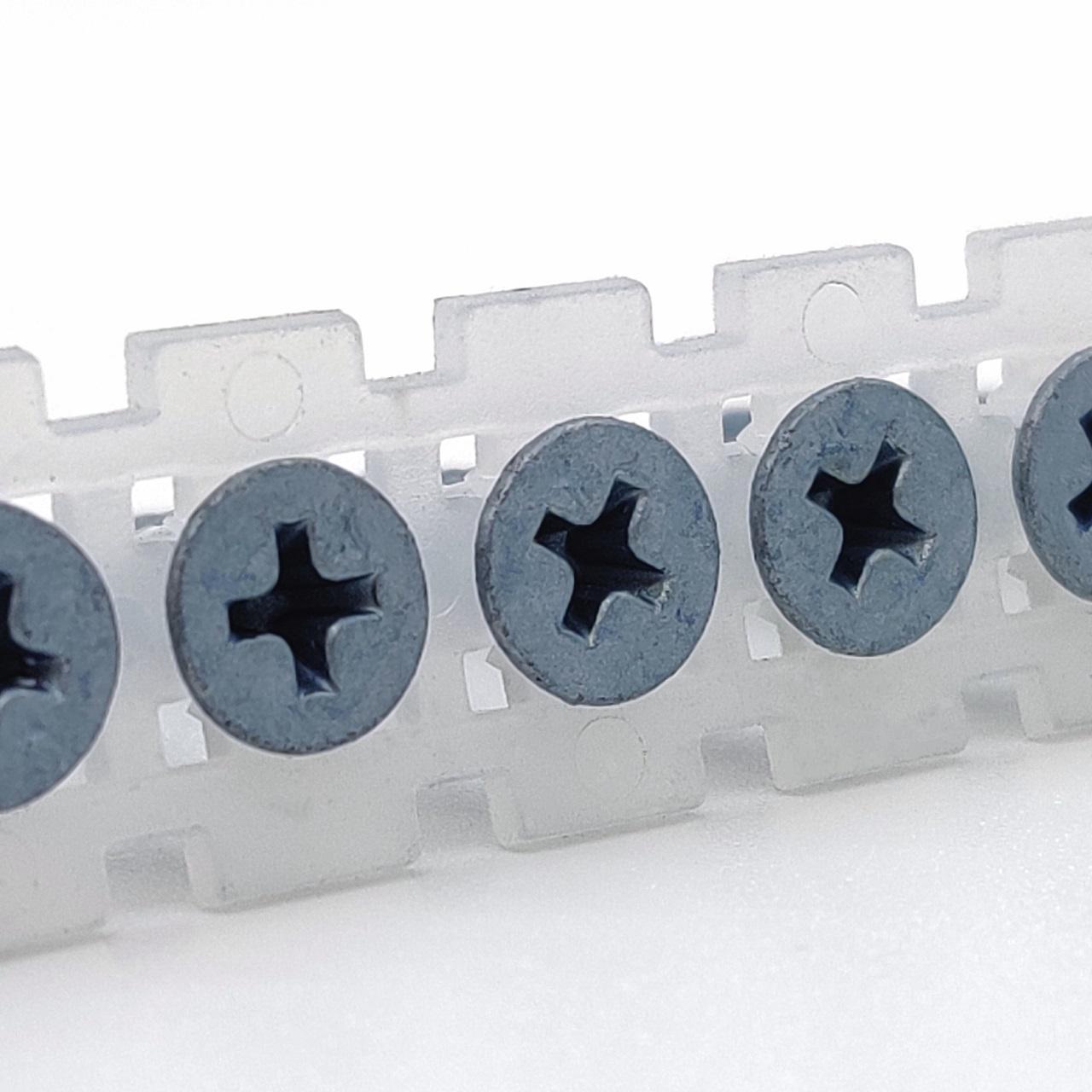 Magazinierte BLUEfast500® Schnellbauschrauben   Bohrspitze   3,5x25
